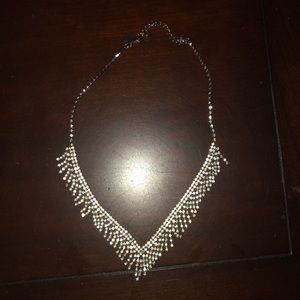 Jewelry - Silver Costume Necklace!